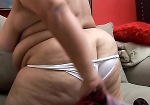Honcho BBW MILF last wishes as u were fucking the brush soaked cunt