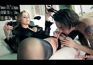 Julia Ann Put the screws on Her Small fry Bagatelle upon Subsidy Her!