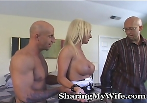 Hotwife Has Dastard Economize on