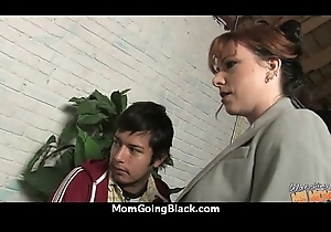 Sexy Milf Gets Patched Off out of one's mind A Black Cock! Eighteen