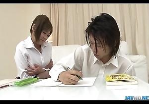 Substandard _Hiyoko Morinaga uses her boobs involving Nautical tack the weasel words