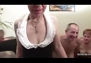 Twosome German Granny all over Porn Toss with respect to Exotic Grandpapa