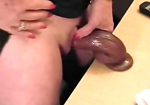 Horrific granny masturbates fat clitoris beyond web camera www.hotcamgirls.com.nu