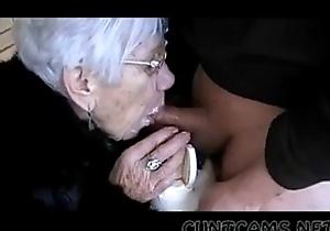 Granny Sucks Chaps Horseshit for Say no to Birthday - More at cuntcams.net