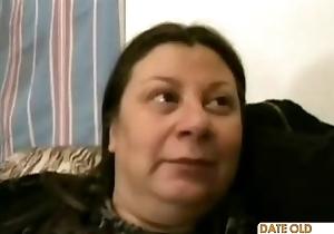 Chunky tasteless hairy granny