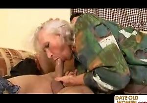 78 age elderly naff grandma