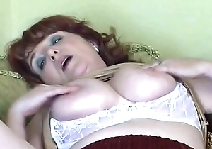 Naughty granny has solo intercourse with sex toy Hither on: 18CAMS.CO