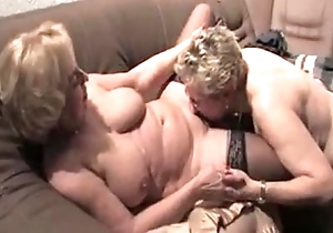 Lesbian grandmas from EpikGranny.com eating cunt
