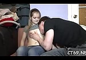 Sexy babe enjoys sexy shagging