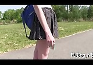 Juicy word-of-mouth pleasure together with doggystyle sex