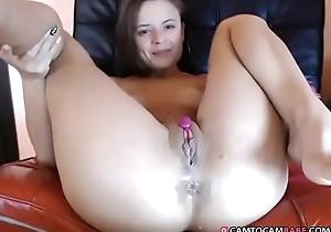 Chubby bush-leaguer creampie wet crack masturbate