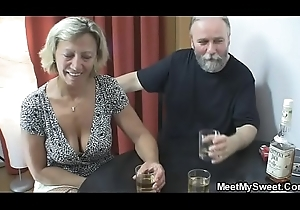 Exploitative parents roger his girlfriend