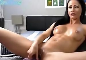 despondent latin chick milf orgasm flip charge from apparatus CamJoie.com