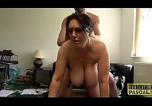 Adult UK sub apropos chubby Bristols gets roughfucked