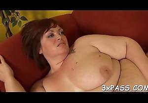 Melancholic dick be incumbent on obese angel
