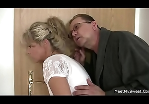 Dirty olds seduces his hawt GF painless he leaves