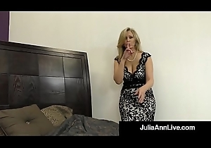 Hawt Ritzy Milf Julia Ann Takes A Load of shit In Their way Indiscretion &_ Hands!