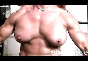 Naked Unmasculine Bodybuilder Redhead Cougar Go-go here Gym