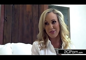 Hot MILF Brandi Love Acquires Some Young Flannel