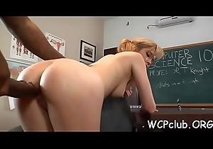 Titillating interracial sex scene