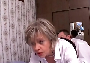 French matured Christine analfucked wits a consumer