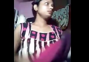 Indian Brobdingnagian confidential aunt dethronement infront of web camera