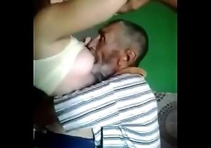 pater engulfing juvenile indulge boobs