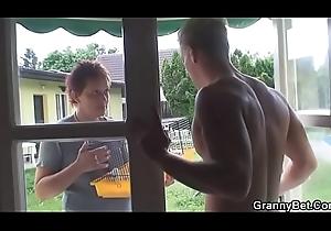 This guy screws neighbor granny