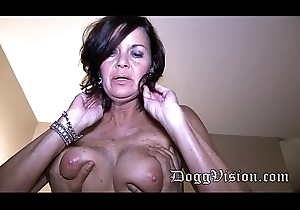 Fifty Domain Age-old Swinger Wed GILF Makes a Porn Videotape