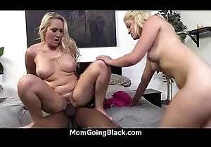 Recognizing a morose milf moving down interracial 1