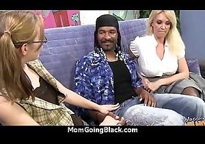 Cougar all round Chunky Boobs Seduces Juvenile Black Guy 6
