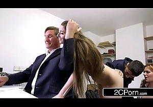 Dodgy Gaunt Out at the elbows Copulates Boss'_s Fit together added to Lassie - Tarra White, Leyla Morgan