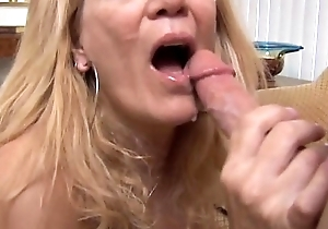 Lord it over sexy slim senior spunker can't live without to suck plus have sex
